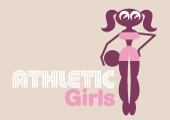 pre-made Atlethic Girls Logo