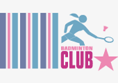 pre-made Badminton Club Logo
