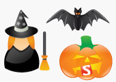 Halloween Icons exclusive for Smashing Magazine