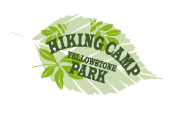 pre-made Hiking Camp Logo