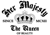 pre-made The Queen Of Beauty Logo